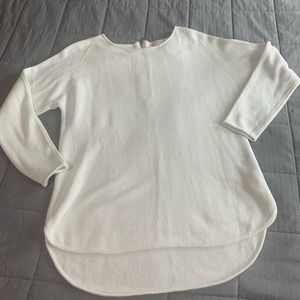MICHAEL Michael Kors White Sweater Sz Lg